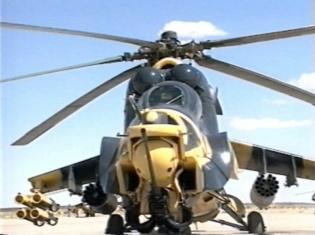 Les hélicoptères d'attaque de l'armée algérienne ont joué un grand rôle dans la lutte contre le terrorisme