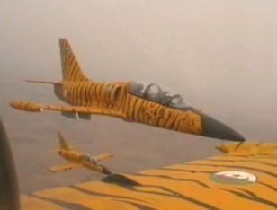 Des L-39 Albatrosde l'armée de l'air algérienne. Utilisés en tant qu'avions d'entraînement de base pour les nouveaux pilotes de chasse, ces appareils peuvent être modifiés pour effectuer des missions de bombardement tactique. Ils pourraient bien être utilisés au Nord du Mali contre les regroupements et les convois des groupes terroristes MUJAO et AQMI.