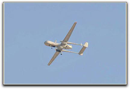 Drone franco-israélien de type Harfang (EADS/IAI)