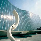 French-Communist-Party-headquarters-in-Paris-by-Oscar-Niemeyer