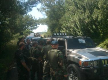 Contrairement à ce que l'on pourrait croire, l'armée syrienne est relativement bien organisée. Des éléments du renseignement de l'armée de l'air syrienne près de Banyas. Mai 2013