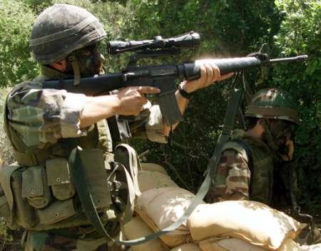 Soldats du Hezbollah en action. La milice libanaise née des cendres de l'invasion israélienne du Liban en 1982 est actuellement l'une des meilleures milices au monde.