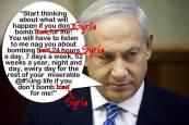 Benyamin Netanyahu, alias Dr. Evil veut plonger le monde dans une nouvelle guerre mondiale...