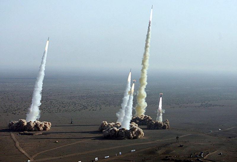 Une guerre au Moyen-Orient verrait un usage inédit et massif de missiles balistiques par l'Iran, le Hezbollah et la Syrie contre Israël, l'Arabie Saoudite et des cibles US dans la zone.