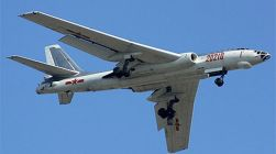 China's H-6K strategic bombers can target US military facilities and those of its allies in the Western Pacific.