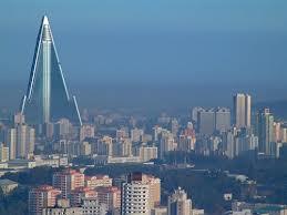 Pyongyong, capitale de la Corée du Nord.
