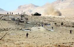 Photo de l'embuscade tendue hier 27 décembre 2013 par l'armée syrienne à un détachement de l'organisation Ennosra et à l'issue de laquelle entre 80 et 150 rebelles auraient été éliminés.
