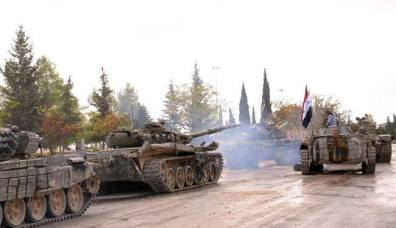 L'avancée des unités blindées syriennes dans la zone industrielle d'Alep continue, exploitant les combats acharnés entre l'Etat Islamique d'Irak et du Levant et les autres factions de la rébellion. Le haut commandement syrien aurait donné pour consigne de cibler en priorité une nouvelle organisation apparue depuis moins de quinze jours sur le terrain dénommée le Front Islamique. Cette dernière bénéficie du soutien affiché des cercles sionistes aux Etats-Unis.