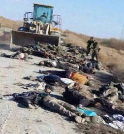 Premières photos des rebelles tués à la Ghouta orientale hier.