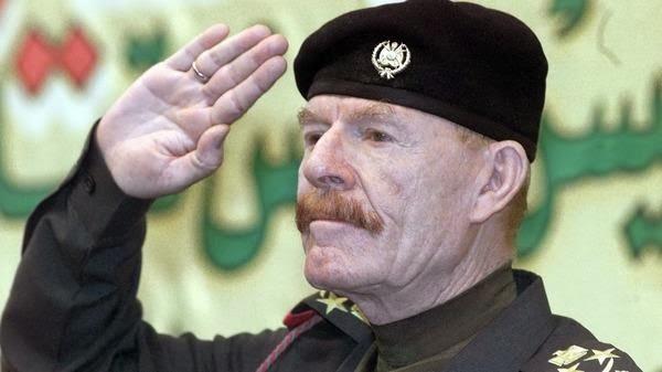 Izzet Ibrahim Eddouri, l'ex-vice président la République d'Irak sous Saddam Hussein est devenu une légende de la résistance. Il combat aujourd'hui et les terroristes de l'Etat Islamique d'Irak et du Levant et le gouvernement de Nouri Al-Maliki.