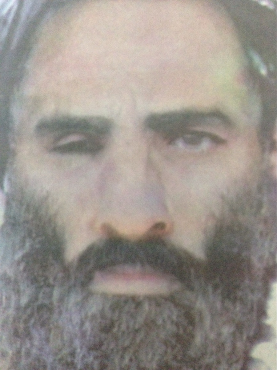 Mollah Omar of Afghanistan, supreme leader of the Islamic Emirate of Afghanistan/Le Mollah Omar, chef suprême de l'Emirat Islamique d'Afghanistan.