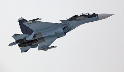 Sukhoi Su-30 SM russe. Ce chasseur multirôle basé sur la famille du Su-30 MK est admiré par l'ensemble des analystes militaires US.