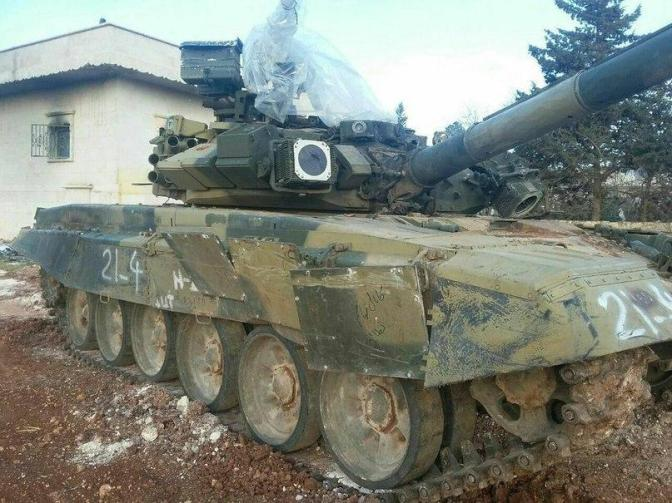 A little surprise: Syrian NDF will use T-90S against insurgents