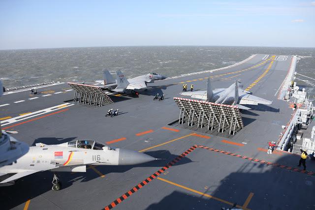 Montée en puissance de l'aéronavale chinoise