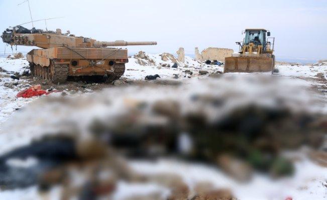 Syrie: l'armée turque a perdu dix chars LEOPARD 2A4 et un char M-60T à l'ouest d'Al-Bab