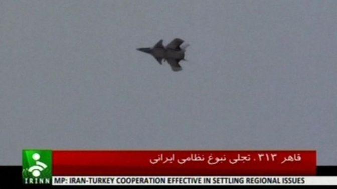 Le chasseur iranien Qaher-313 dévoile son nouveau design