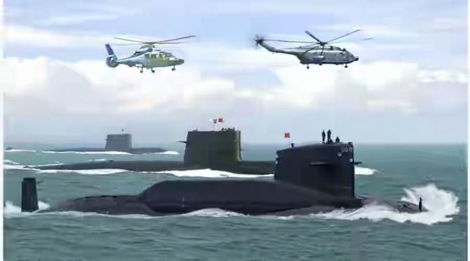La Chine met en alerte ses submersibles nucléaires