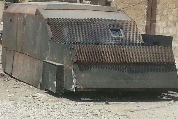 L'ère des véhicules blindés kamikazes ou pourquoi il est difficile de s'opposer à une attaque suicide