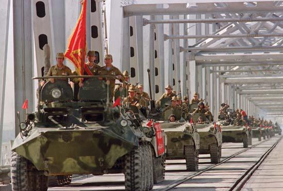 Retrait des forces soviétiques d'Afghanistan.